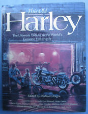 THIS OLD HARLEY CLASSIC MOTORCYCLE BOOK ARLEN NESS KNUCKLEHEAD PANHEAD  KNIEVEL