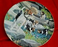 """Hamilton Mint """"Classic Sporting Dogs"""" Series. Beagles By Robert Christie"""
