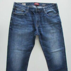 Mavi Marcus Jeans Mens Size W38 L30 Blue Slim Fit Denim