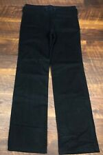 Andrew Mackenzie Black Chino style size 50 x 37 Men's Casual Dress Pants
