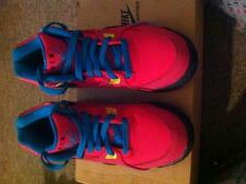 Youth Girls  Hot Pink, Blue, Neon Yellow Nike Air Flight 89's size 5.5
