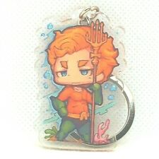 "Aquaman Original Comic Justice League 2"" Keychain Dc Comics 912"