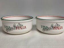 Lot Of 2 Waechtersbach Viva Italia Insalata Cereal Bowls Spain Williams Sonoma