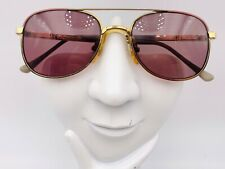 Vintage Nintendo 4-20 Gold Metal Aviator Sunglasses Frames Only