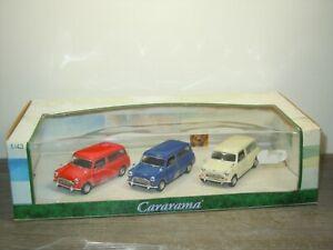 Mini Countryman 3 Car Set - Cararama 1:43 in Box *51463