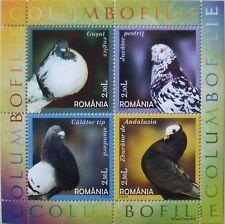 Romania 2005-Columbopfilie 1 M/Sh., MNH, RO32