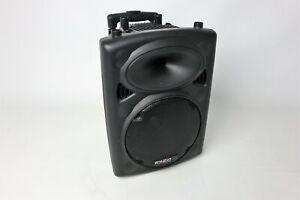 Ibiza Speaker Beschallungsanlage 25cm 10 Zoll 500 Watt mobil 15-6018 schwarz OVP