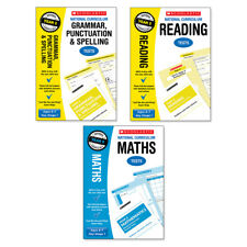 Scholastic Year 2 SATs Revision Reading, Grammar & Maths Book Pack (RRP£23.97)