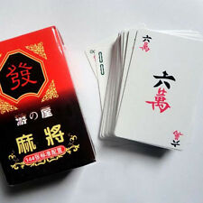 Portable 144 Mahjong Card Chinese Traditional Folk Games  Multiplayer Game