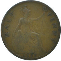 1927 HALF PENNY OF GEORGE V.     #WT15649