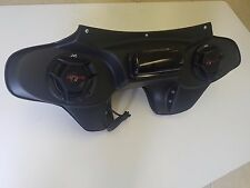 "Harley Davidson Roadking Fairing Road King Speakers & Radio 6 1/2"" Inch Flhp"