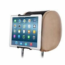 Car Headrest Mount Holder for Apple iPad, All 7 to 10 Inch Tablets & DVD Device
