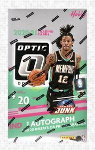 2020-21 Donruss Optic Basketball Base Cards. ⭐ Updated Oct, 2021