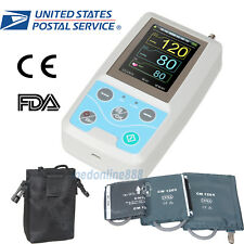 24hours NIBP Ambulatory blood pressure monitor with adult/large adult/child cuff