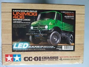 Mercedes-Benz -> Unimog 406 -> Series U900 (CC-01) 1:10  Tamiya 58457