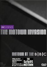 BBC LEGENDS: THE MOTOWN INVASION DVD DOCUMENTARY + RARE LIVE REVUE PERFORMANCES
