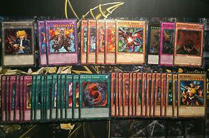 YuGiOh! Red Eyes Black Dragon Deck - Joey Cards - Flare Metal, Stone of Legend +