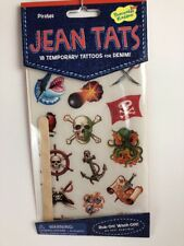 Jean Tats Pirates Tattoos For Denim Clothing New In Packaging