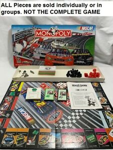 U-PICK 2002 Nascar Collector's Edition Monopoly Game Replacement Pieces