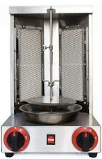 New Listingnjtfhu Shawarma Grill Doner Kebab Machine Gas Rotating Home Vertical Rotisserie