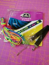DMC fluorescent bracelet kit - counted cross stitch Sea