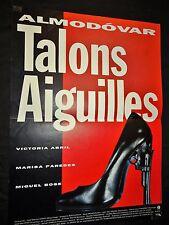 almodovar TALONS AIGUILLES  !  affiche cinema