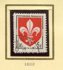 STAMP / TIMBRE FRANCE OBLITERE  N° 1186 BLASON LILLE