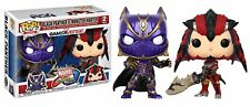 Funko pop! Marvel vs Capcom-Black Panther & Monster Hunter, 2-er Pack