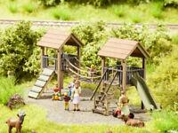 14367 Noch HO, Abenteuer-Spielplatz, Liebe zum Detail,  Laser-Cut minis, Modelle