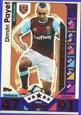 Match Attax 2016 2017 Topps LE7 DIMITRI PAYET Bronze Limited Edition 16 17