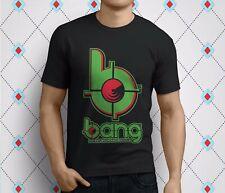 New Bang Energy Drink Fuel Your Destiny Brands Men's Black T-Shirt Size S-3Xl