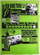 NEW BOMB TURKS - 1994 - Tourplakat - Concert - Teengenerate - Tourposter