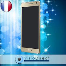 Ecran complet pour Samsung Galaxy A7 SM-A700F or vitre tactile + ecran LCD