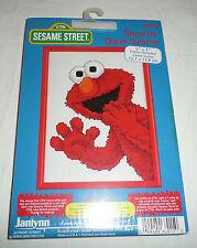 Surprise Elmo - Sesame Street Cross Stitch Pattern NEW SEALED Frame Picture