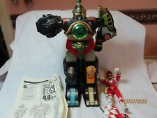 "POWER RANGERS  THUNDER MEGAZORD COLLECTION with box etc  ""~*"
