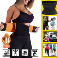 Sport Waist Trainer Weight Loss Women Sweat Thermo Wrap Body Shaper Belt Gym HOT