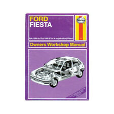 Ford Fiesta Mk2 Haynes Workshop Manual OFFICIAL Retro Metal Fridge Magnet