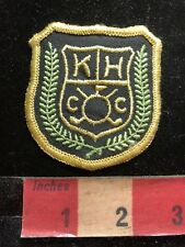 Vtg Golf Patch - KHCC -  Country Club 82YE
