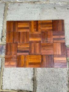50 antique reclaimed parquet flooring fingers. Good condition.