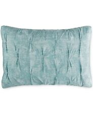 Bar Iii 3 Home Diamond Pleat Cotton King Pillow Sham Mineral Blue Bedding i912