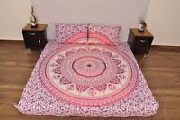 New Urban Outfitters Mandala Duvet Set Doona Cover Indian Bedding Pillow Pair UK