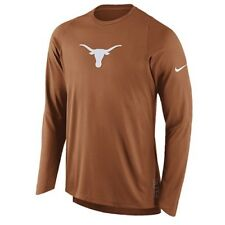 Texas Longhorns NCAA Men's Nike Basketball On-Court L/S Shooting Shirt, Medium
