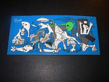 RIPNDIP Skate Sticker NERMAL PICASSO rip n dip skateboards helmets decal
