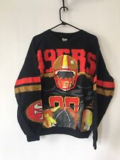 Vintage 8-bit San Francisco 49ers Forty Niners Sweatshirt Size Large 80s