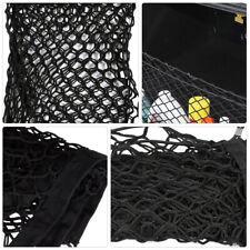 2Pcs Filet de Rangement pour Coffre de Voiture en Nylon Élastique + 8 Crochets