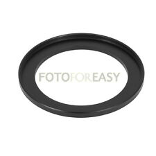 Black 49mm to 58mm 49mm-58mm Step Up Filter Ring