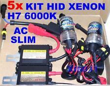 STOCK N°5 KIT XENON H7 6000K 35W CENTRALINE AC SLIM BALLAST LUCI XENO 6000 K 12V