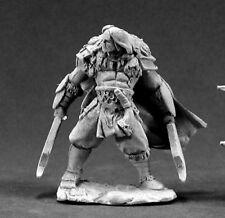 Reaper Miniatures Kjell Bloodbear, Barbarian #03362 Dark Heaven Unpainted Metal