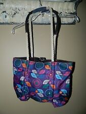 Lily Bloom Tote Bag Purse Reversible Recycled Eco