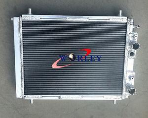 For Lancia Delta HF Integrale 8V/16V / EVO 2.0 Turbo 1987-1995 Aluminum Radiator
